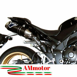 Full Exhaust System Termignoni Yamaha Yzf R1 2011 Motorcycle Muffler Oval Carbon