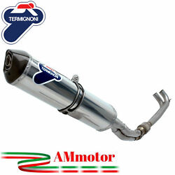 Full Exhaust System Termignoni Yamaha T-max 500 2008 Motorcycle Relevance Steel