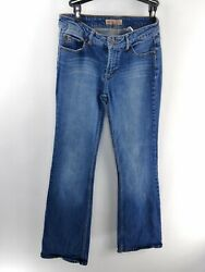 Paris Blues Womens Size 7 Bootcut Distressed 5-pocket Casual Jeans Pre-owned