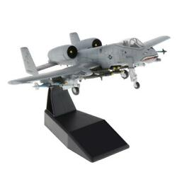 1/100 A-10 Attack Military Army Model Plane W/ Dispaly Stand Home Ornaments