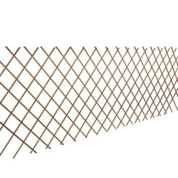 Set Of 5 Trellis Natural Willow 2and039 11 X 5and039 11 Climbing Plant Wall Fence Screen