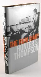 Signed First Edition Thompson Hunter S. - The Rum Diary The Long-lost Novel B