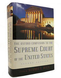 Kermit L. Hall The Oxford Companion To The Supreme Court Of The United States 1