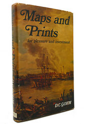 Douglas Charles Gohm Maps And Prints For Pleasure And Investment 1st Edition 1s