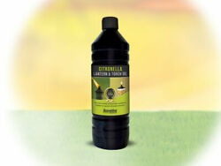 Citronella Lamp Oil 6 X 1 Litre Bottles. For Use Outdoors In Lamps And Torches