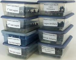 Lot Historical Loose Mini 28mm Wayneand039s Legion Collection 1 - 344 Figures Nm