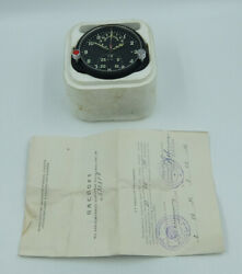 New Achs-1m Russian Soviet Ussr Military Airforce Aircraft Cockpit Clock 58281