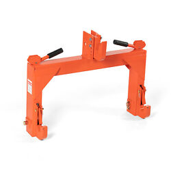 Titan Attachments Orange Category 1 And 2 3 Point Quick Hitch