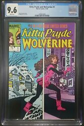 Kitty Pryde And Wolverine 1 Cgc 9.6 Limited Series White Pages