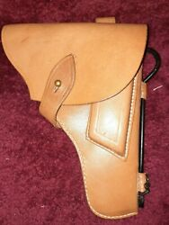 Leather Tokarev Holster With Cleaning Rod Repro