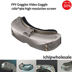 Sky04x Fpv Goggles Video Goggles+5.8ghz 48ch Oled Screen 1280x960 For Rc Drone
