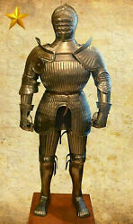 Medieval Antique Gothic Armour Reenactment Wearable Halloween Costume
