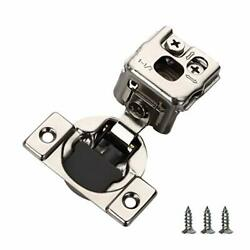 Furniware 20 Pieces Soft Closing Cabinet Hinges 1-1/2 Overlay Cabinet Hardwa...