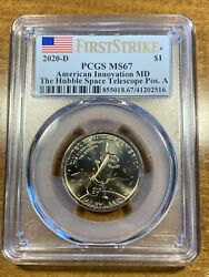 2020-d 1 Innovation Dollar Hubble Space Telescope First Strike Pcgs Ms67 Pos A