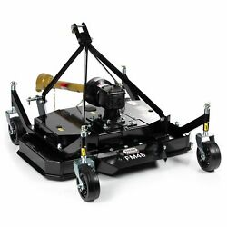 Titan Attachments 3 Point Pto Finish Mower 48 Cutting Width Category 1 Hitch