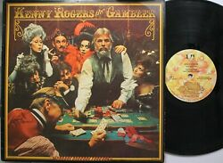 Country Lp Kenny Rogers The Gambler On Ua - Vg / Vg+ Pencil Marks On Front Cove
