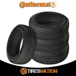 4 New Continental Crosscontact Lx20 275/55/20 111s All-season Traction Tire