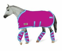 Reeves Breyer Tack Blanket Shipping Boots Hot Pink