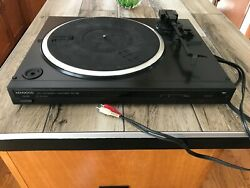 Vintage Kenwood Kd-48f Automatic Stereo Turntable For Parts Or Repair