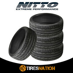 4 New Nitto Nt555 G2 255/40/19 100w Ultra-high Performance Sport Tire