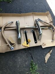 1956 Plymouth Front Grill Guard Chrome Accessory Kit In Box