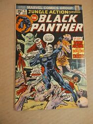 Jungle Action #9 featuring The Black Panther Marvel Comics 1974