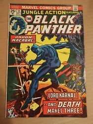 Jungle Action #11 THE BLACK PANTHER Marvel Value Stamp Intact 1974