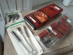 Vintage Lot Outers 12 Gauge Shotgun And 30 Cal Rifle Cleaning Kits Original Boxes