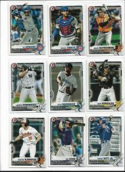 2021 Topps Bowman National NSCC Convention Pick Your Player Complete Set