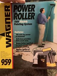Wagner Power Roller 959 Electric Painting System Pre-owned