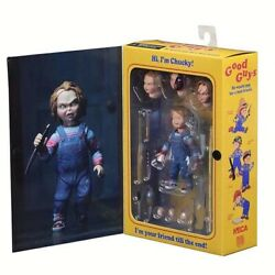 Neca Chucky Good Guy Childs Play Ultimate Pvc Action Figure Model Toy 4 10cm