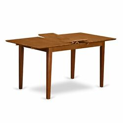 Psml7-sbr-w 7 Pc Kitchen Tables And Chair Set Table With A 12in Leaf And 6 Ki...