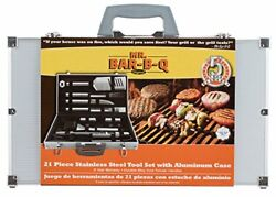 Mr Bar-b-q 02066x 21 Piece Bbq Grill Set | The Ultimate Barbeque Grill Tool Set