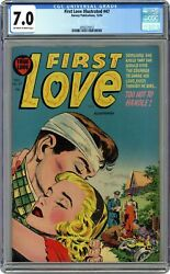 First Love Illustrated 47 Cgc 7.0 1954 2056275012