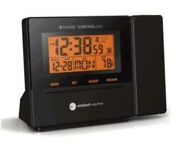 RC 8427 Clearview Radio Controlled Projection Clock with Indoor Small