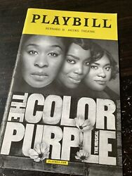 The Color Purple Broadway Revival Playbill 2016