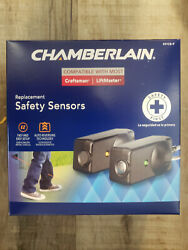 Chamberlain 801cb-p Replacement Safety Sensors For Liftmaster Or Craftsman - New