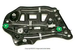 Audi A4 2003-2009 Window Regulator Without Motor Electric Rear L / Dr. Side