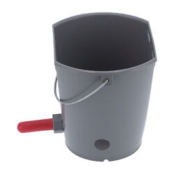 8l Plastic Feeder Bucket With Nipples Check Valves Feeding Equipment For Live Us