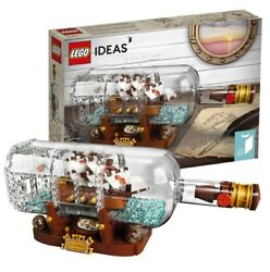 Lego Ideas Ship In A Bottle Building Kit 92177 - 962 Pieces Freeshiping