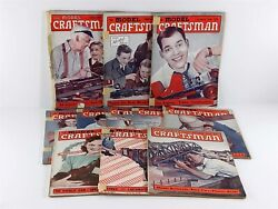 The Model Craftsman Magazine 1941 1940 Lot 11 Issues Trains, Airplanes