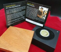 2011 Tasmanian Devil 1/2 Oz Gold 50 Coin No. 23 Only 66 Coins Minted Rare