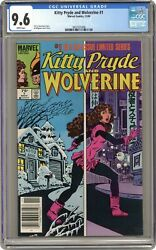 Kitty Pryde And Wolverine 1 Cgc 9.6 1984 3837531006