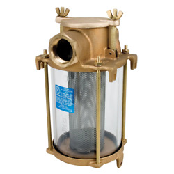 Perko 1-1/2 Ips Intake Strainer Bronze Made In The Usa [0493008plb]