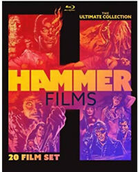 Hammer Films Ultimate Collection New Blu-ray 20 Films Frankenstein Jekyll Mummy