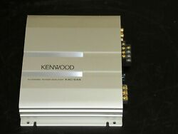 Kenwood Kac-644 Car 4 Channel And Stereo Amplifier Not Tested As Is