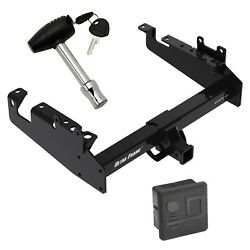 Trailer Tow Hitch For 19-21 F-350 F-450 F-550 Cab And Chassis W/ Security Lock