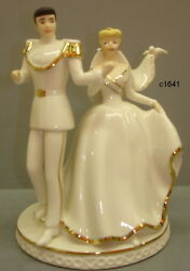 Lenox Disney Wedding Cinderella And Charming Cake Topper Magical Moment New