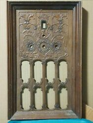 Antique Front Panel For 1929 Eveready Model 52 Console Radio Receiver