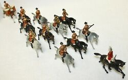 Britains Toy Lead Soldiers Band Of Life Guards Mounted 1-eared Horses. 101 1905